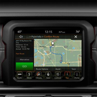 8.4-Inch Radio and Premium Audio Group