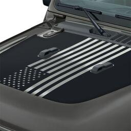 American Flag Hood Graphic by Mopar