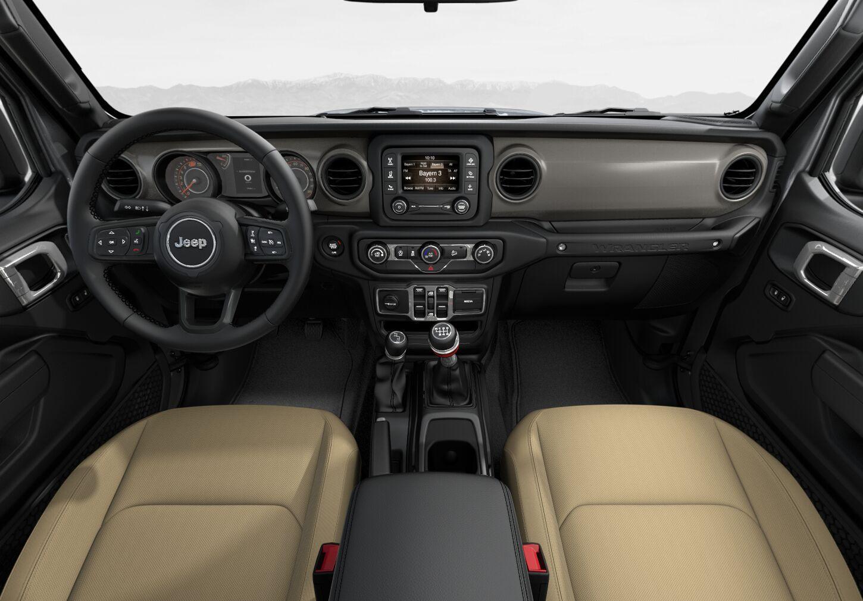 Cloth Low-Back Bucket Seats Black:Heritage Tan Interior Color:Gray Panel