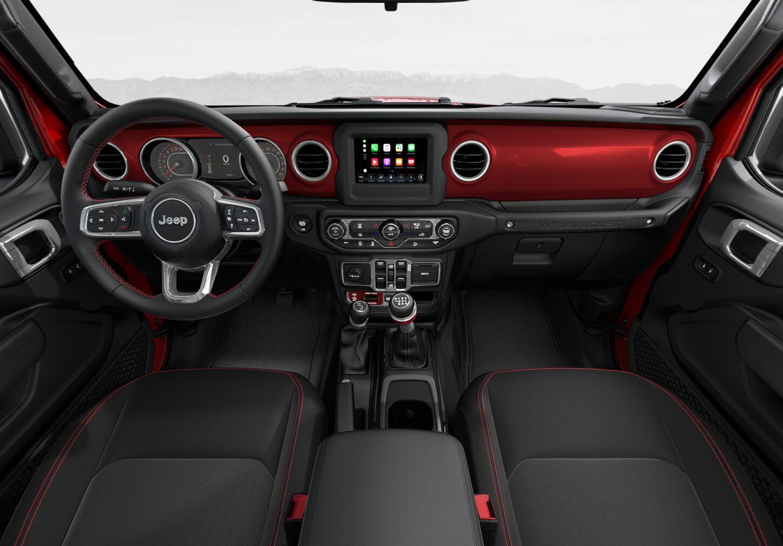Premium Cloth Low-Back Bucket Seats/Black Interior Color:Red Panel